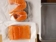Salmon Steaks are Best for Grilling