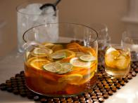 White Sangria is Summer Fresh Cocktail