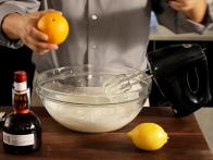 Stir Fresh Citrus Juice into Whipped Cream