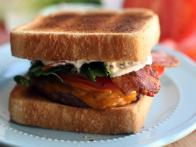 BLT Burger with Bacon Mayonnaise