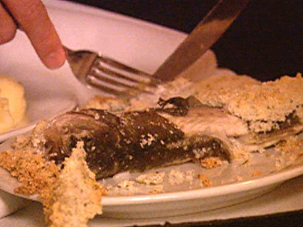 Whole Branzino Roasted in Sea Salt with Aromatic Herbs