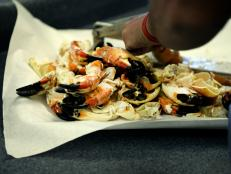 Cooking Channel serves up this Everglades City Stone Crab recipe  plus many other recipes at CookingChannelTV.com
