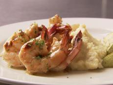 Cooking Channel serves up this Saute of Gulf Shrimp recipe  plus many other recipes at CookingChannelTV.com