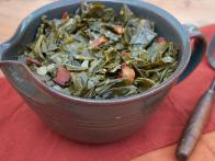 Spicy Braised Collard Greens