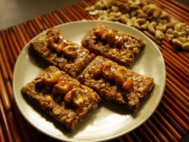 Coconut Almond Date Granola Bars