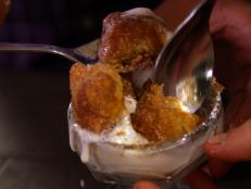 Cooking Channel serves up this Deep Fried Apple Pies with Cheddar Crust recipe  plus many other recipes at CookingChannelTV.com