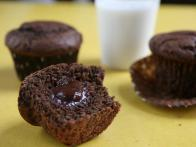 Gooey Chocolate Muffin