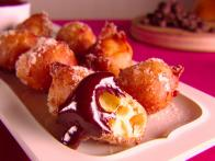 Orange and Chocolate Zeppole