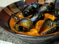 Sweet Potato Curry with Mussels