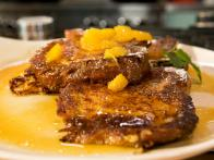 Brioche French Toast with Orange Marmalade Syrup