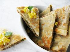Cooking Channel serves up this Spicy Quesadillas recipe  plus many other recipes at CookingChannelTV.com