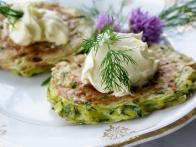 Zucchini and Dill Pancakes