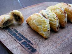 Cooking Channel serves up this Blaak Cheese and Sweet Onion Turnovers recipe from Josh Kilmer-Purcell  and Brent Ridge plus many other recipes at CookingChannelTV.com