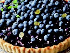 Cooking Channel serves up this Double Blueberry Tart recipe from Josh Kilmer-Purcell  and Brent Ridge plus many other recipes at CookingChannelTV.com