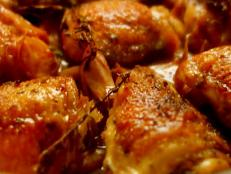 Cooking Channel serves up this Chicken with 40 Cloves of Garlic recipe from Nigella Lawson plus many other recipes at CookingChannelTV.com