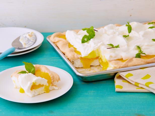 Inverted Lemon Meringue Pie