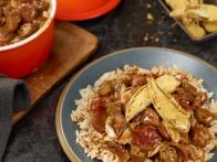 Okra Gumbo with Andouille, Chicken and Crab