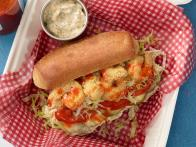 Shrimp and Oyster Po' Boys