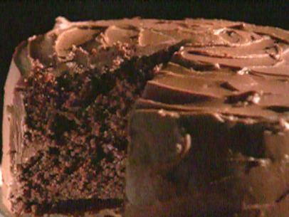 Alton Brown Chocolate Fudge Cake