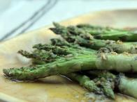 Grilled Asparagus Involtini with Lardo