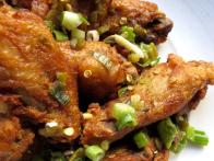 Crispy Chicken Wings Confit