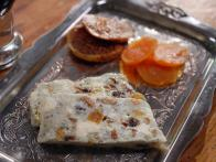 Blue Cheese and Dried Fruit Terrine