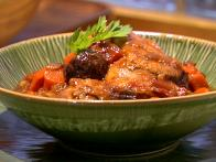 Ale-Simmered Chicken with Dried Plums