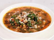 Cooking Channel serves up this Lentil Soup with Kale and Sausage recipe from Rachael Ray plus many other recipes at CookingChannelTV.com