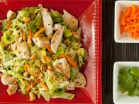 "Chinese Chopped Chicken Salad with ""Wok""-Fried..."