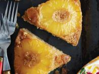 Pineapple Upside-Down Cake with Hawaiian Sea Salt