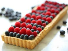 Cooking Channel serves up this 4th of July Berry Tart recipe  plus many other recipes at CookingChannelTV.com