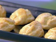 Cooking Channel serves up this Gougeres recipe  plus many other recipes at CookingChannelTV.com