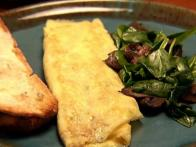 Omelet with Fines Herbes