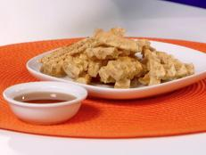 Cooking Channel serves up this Waffle Breakfast Fries recipe  plus many other recipes at CookingChannelTV.com
