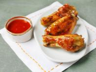 Spiced Honey-Glazed Chicken Wings