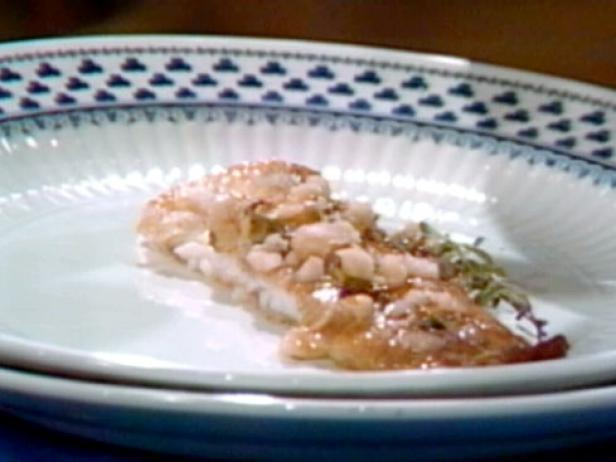 Sole with Anchovy Sauce
