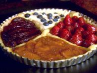Four Seasons Tart from Lake Como: Crostata di Quattro Stagioni