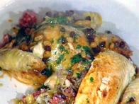 Stuffed Chicken with Leeks (Pollo Imbotito Ai Porri)