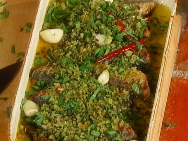Marinated Fish with Vinegar and Mint: Pesciolini in Scapece