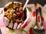 Berry Crisp with Plums