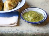 Green Chile Tomatillo BBQ Sauce