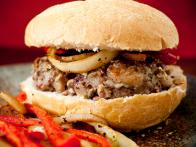 Pork-Fennel Burger