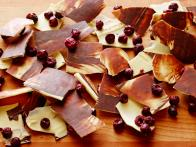Midnight White Chocolate Cherry Bark