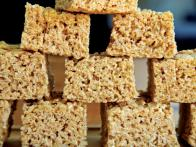 Browned Butter Peanut Butter Crispy Rice Treats