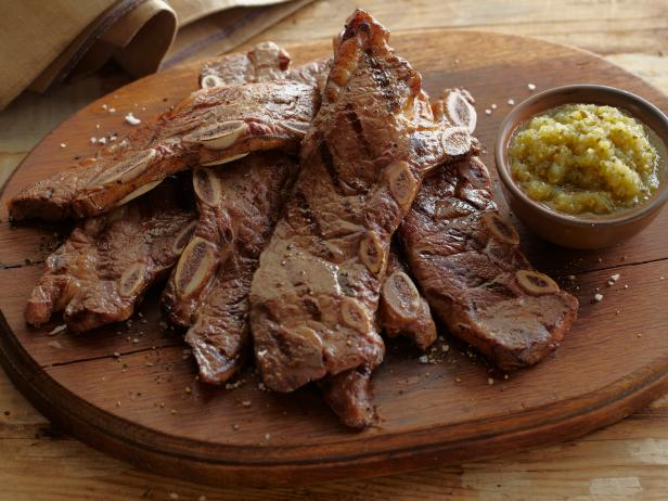 Barbecued Short Ribs of Beef - Tira de Asado