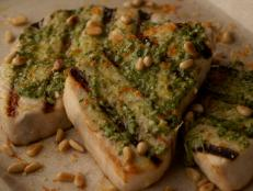 Cooking Channel serves up this Swordfish With Citrus Pesto recipe from Giada De Laurentiis plus many other recipes at CookingChannelTV.com