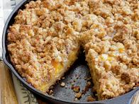 Fresh Peach Crumb Coffee Cake