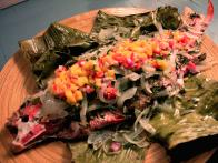 Whole Mutton Snapper with Mango Salsa