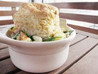 The Country Cat's Fish and Shellfish Pot Pie