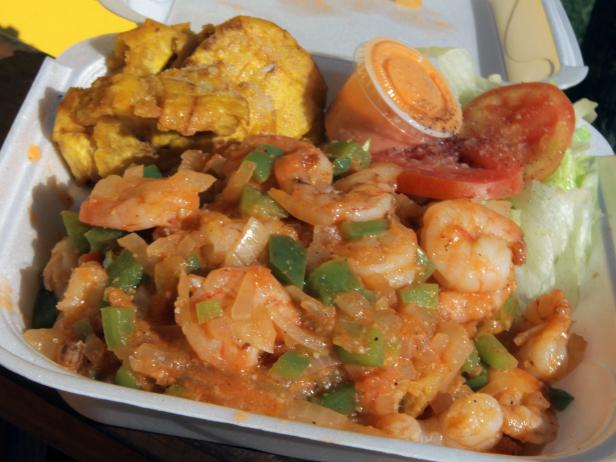 The Shrimp Mofongo
